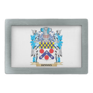 Hobbis Coat of Arms - Family Crest Belt Buckle