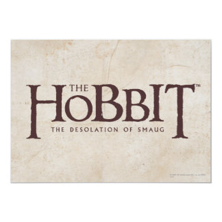 Hobbit Logo - Dark Card
