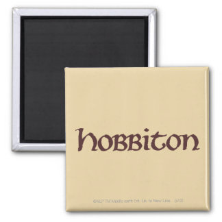 HOBBITON™ Solid Fridge Magnet