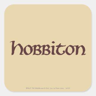 HOBBITON™ Solid Square Sticker
