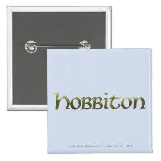 HOBBITON™ Textured Pinback Button