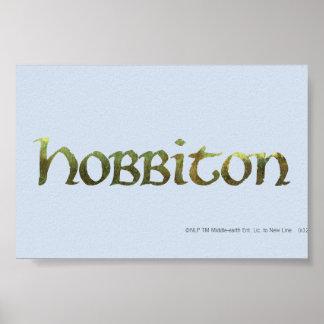 HOBBITON™ Textured Poster