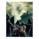 Hobbits listo para luchar postal