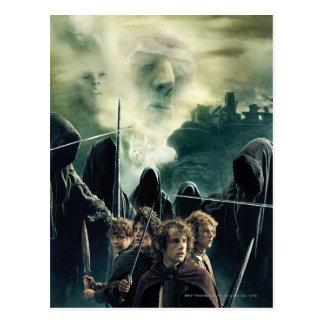 Hobbits listo para luchar tarjetas postales