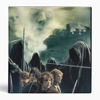 Hobbits Ready to Battle 3 Ring Binder