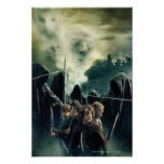 Hobbits Ready to Battle Print