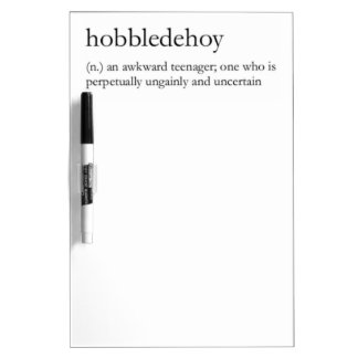 Hobbledehoy products Dry-Erase whiteboard
