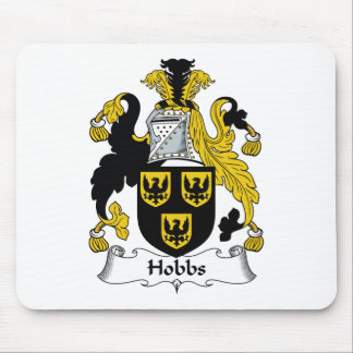 Hobbs Family Crest Mouse Pad
