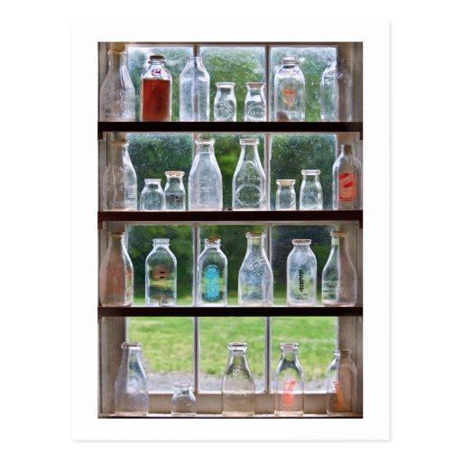 Hobby - Collector - Milk Bottles Postcard