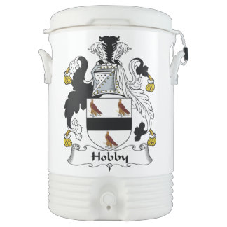 Hobby Family Crest Igloo Beverage Cooler