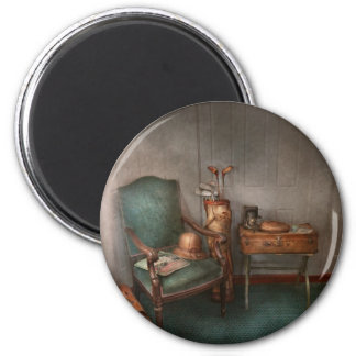 Hobby - Golf - Photography - Persuits of happiness 2 Inch Round Magnet
