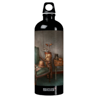 Hobby - Golf - Photography - Persuits of happiness Aluminum Water Bottle