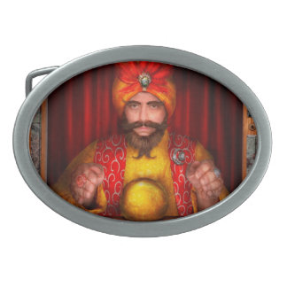 Hobby - Have your fortune told Oval Belt Buckles