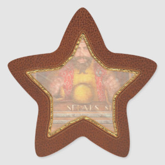 Hobby - Have your fortune told Star Sticker