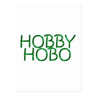 hobby hobo post card