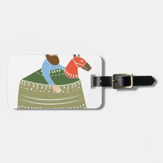 Hobby Horse Bag Tag