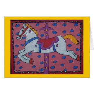 hobby horse card