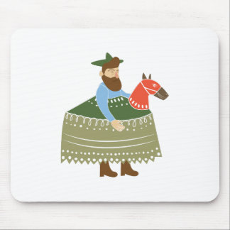 Hobby Horse Mouse Pad