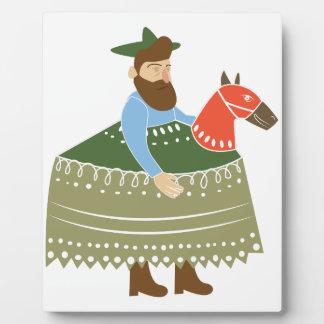Hobby Horse Plaque