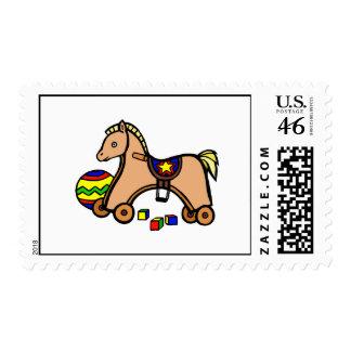 hobby horse stamp