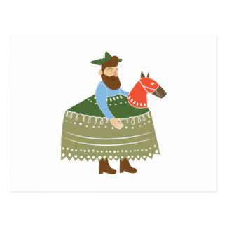 Hobby Horse Postcard