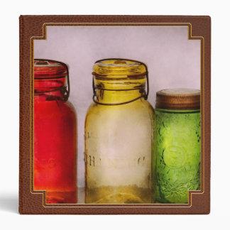 Hobby - Jars - I m a Jar-aholic 3 Ring Binder