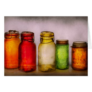 Hobby - Jars - I'm a Jar-aholic Card