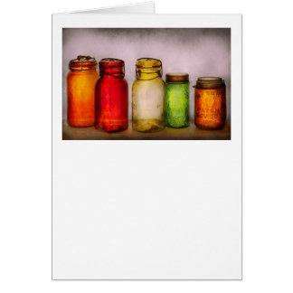 Hobby - Jars - I'm a Jar-aholic Greeting Cards