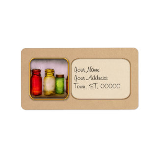 Hobby - Jars - I'm a Jar-aholic Personalized Address Labels