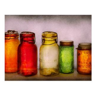 Hobby - Jars - I'm a Jar-aholic Postcard