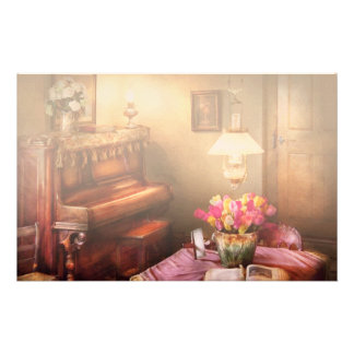 Hobby - Piano - The Music Room Stationery Design