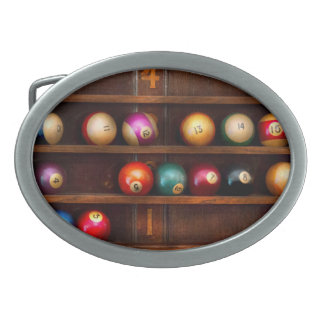 Hobby - Pool - Let's play billiards Belt Buckle