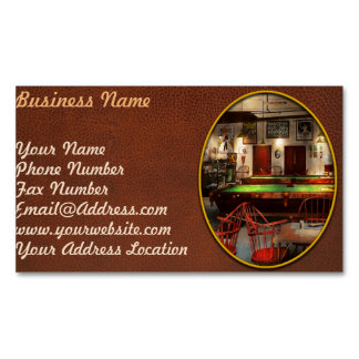 Hobby - Pool - The billiards club 1915 Business Card Magnet