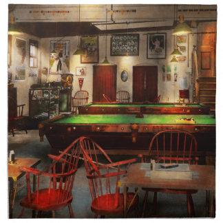 Hobby - Pool - The billiards club 1915 Napkin