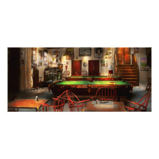 Hobby - Pool - The billiards club 1915 Rack Card