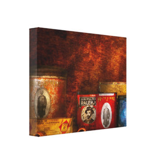 Hobby - Smoker - Smoking pipes Gallery Wrap Canvas