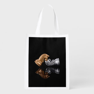 Hobby Sport Chess Reusable Grocery Bag