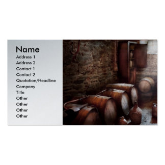Hobby - Wine - The Wine Cellar  Business Card Template