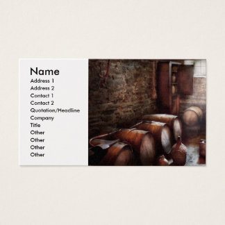 Hobby - Wine - The Wine Cellar  Business Card