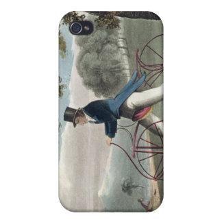 Hobbyhorse peatonal, del depósito de Ackermann iPhone 4/4S Carcasas