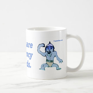 Hobgoblins are the consistency of little minds coffee mug