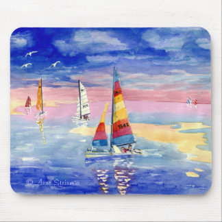 Hobie Cat Sailboats Mouse Pad