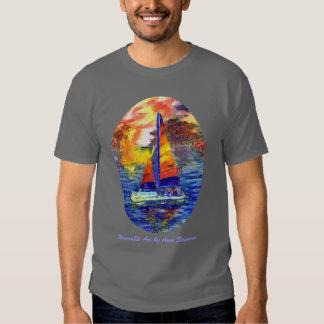 Hobie Cat Sailboats T-Shirt