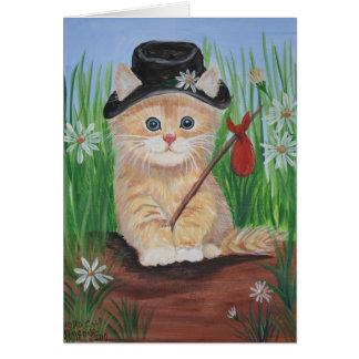 Hobo Cat Card