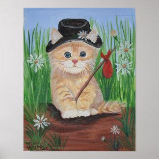 Hobo Cat Print
