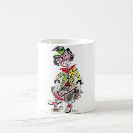 Hobo Clown Coffee Mug