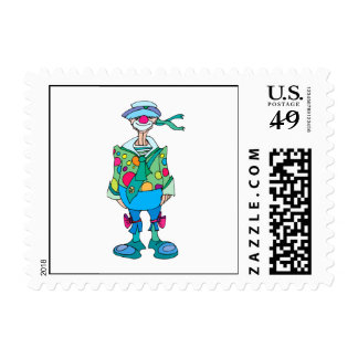 Hobo Clown Postage