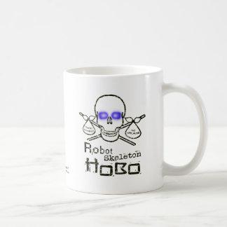 Hobo del esqueleto del robot tazas
