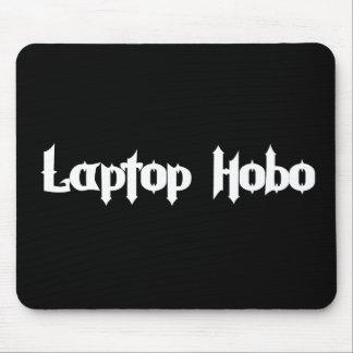 Hobo del ordenador portátil alfombrilla de ratón