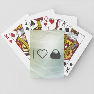 Hobo fresco cartas de juego